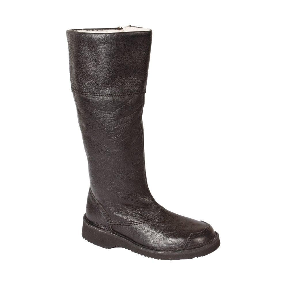 Corina Boot - Freestyle Handcrafted Leather Proudly local leather boots veldskoens vellies leather shoes suede veldskoens