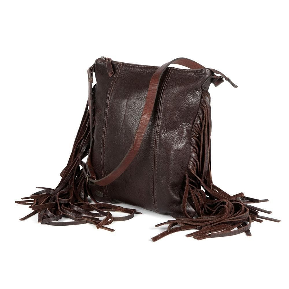 Farah Tassle Bag - Freestyle SA Proudly local leather boots veldskoens vellies leather shoes suede veldskoens