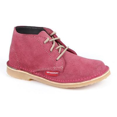 Hunter Kids - Freestyle Handcrafted Leather Proudly local leather boots veldskoens vellies leather shoes suede veldskoens