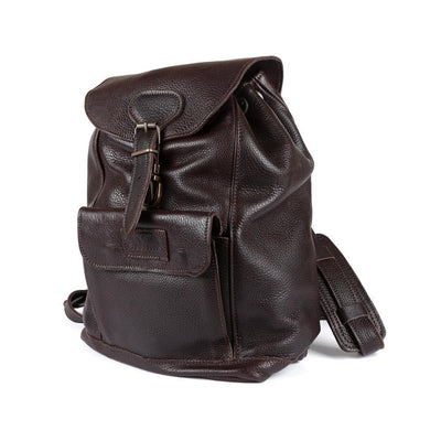 Jacqui Eco Backpack - Freestyle Handcrafted Leather Proudly local leather boots veldskoens vellies leather shoes suede veldskoens