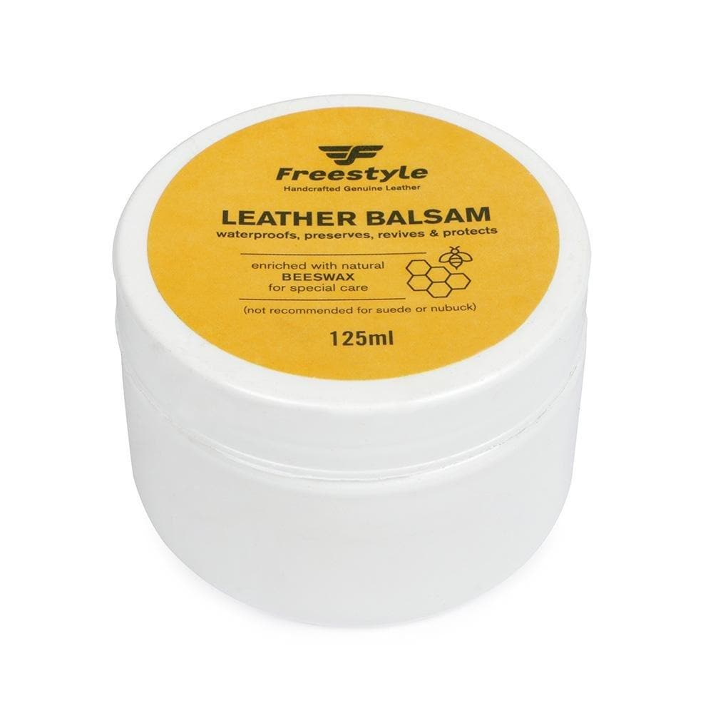 Leather Balsam - Freestyle SA Proudly local leather boots veldskoens vellies leather shoes suede veldskoens
