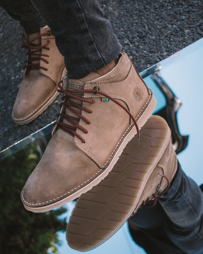 Zambezi MKV Boot - Freestyle SA Proudly local leather boots veldskoens vellies leather shoes suede veldskoens