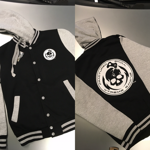 Button Front FSX Varsity Jacket
