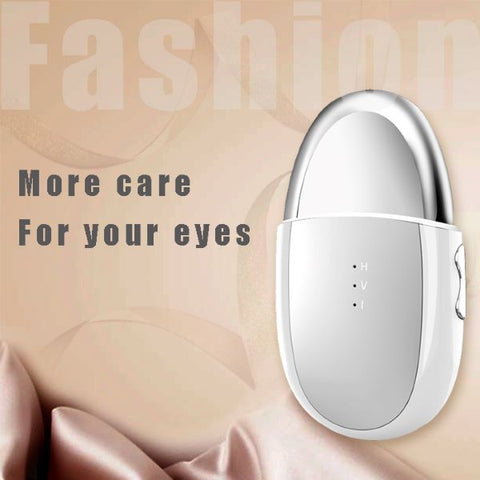 Specification Product name: Advanced Eye beauty device Rated power: 0.85W Internal battery: 3.7V-600mAh Input: 5V Temperature range: 42℃ to 48℃ Charge time: 2 hours Suggested using time: 3-4 times per week, 10 minutes per time Product size: 55*100*20mm Standard: GB4706.1-20053
