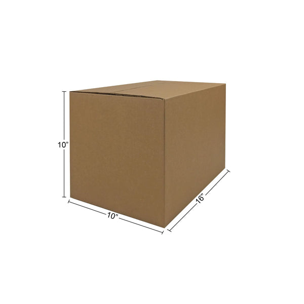 "25 brand new Small Moving Boxes (16""x10""x10""), by UsedCardboardBoxes."