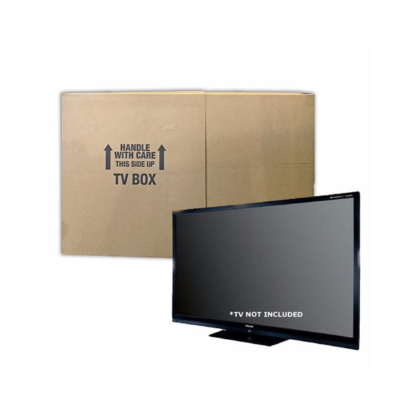 Brand New Flat Screen TV Boxes (2-pack) by UsedCardboardBoxes. TV not included.