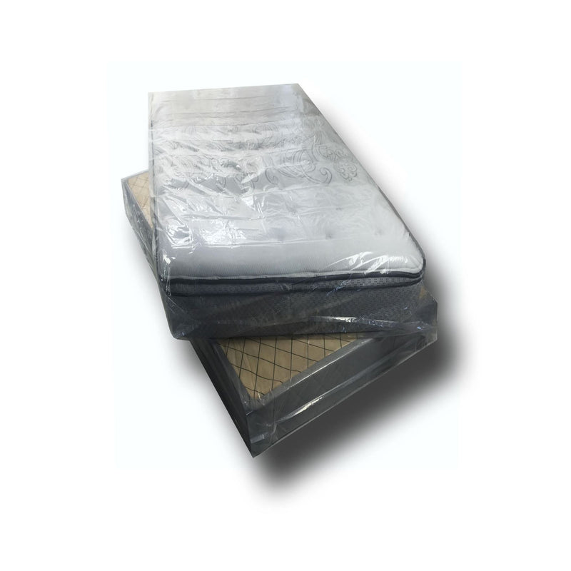 "2 NEW Mattress Covers, sized for Twin sized beds and box springs (86""x40""x12""), by UsedCardboardBoxes."
