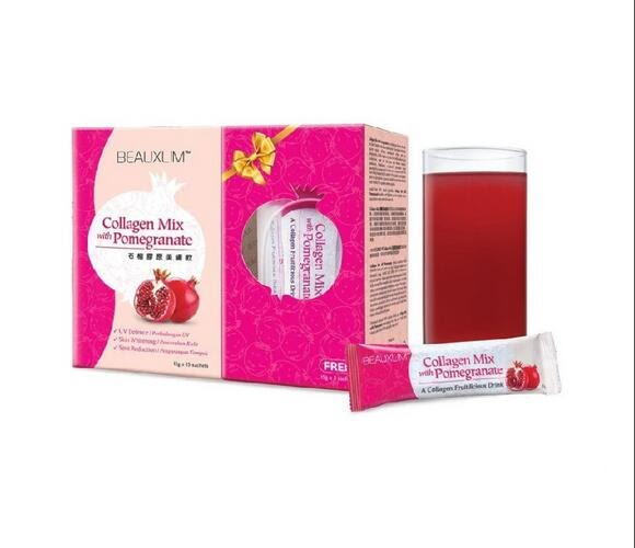 BEAUXLIM Collagen Mix with Pomegranate - iPharmaHome Trusted Pharmarcy Online Malaysia