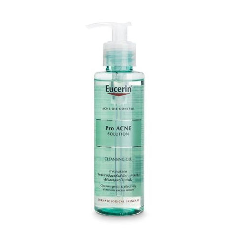 9. EUCERIN  Pro Acne Solution Cleansing Gel - iPharmaHome Pharmacy Online Malaysia