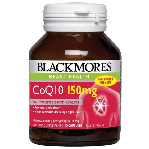 BLACKMORES CoQ10 150mg 30s - iPharmaHome Pharmacy Online