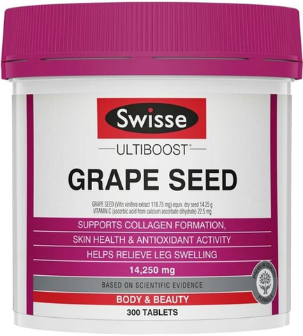 SWISSE Grape Seed 14250MG (300 tablets)