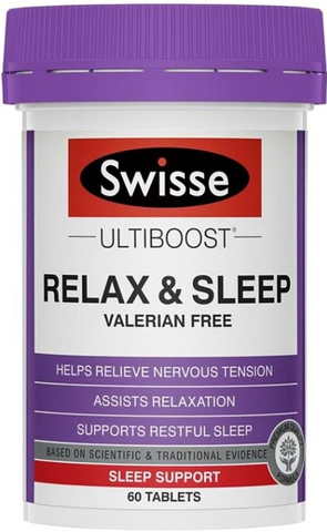 SWISSE Relax and Sleep (60 tablets)