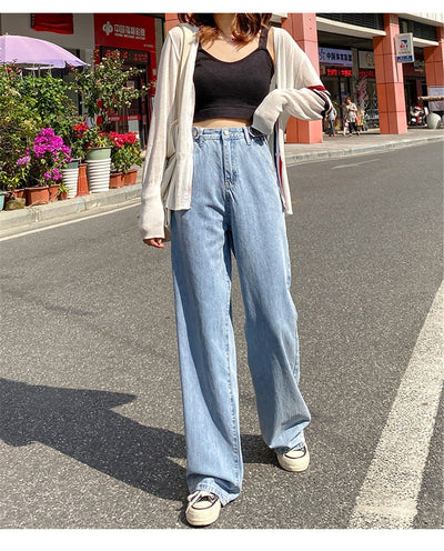 Woman Jeans High Waist Clothes