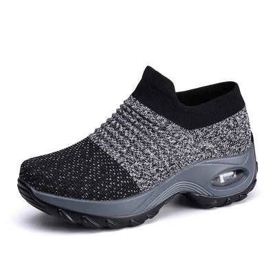Ladies breathable mesh women sneakers