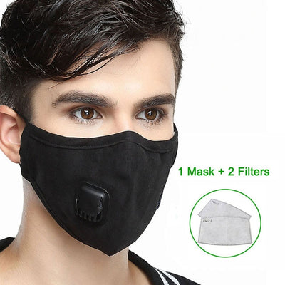Reusable Washable Breathable Face Mask