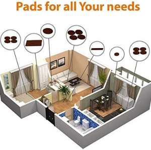 Furniture Pads-Your Best Wood Floor Protectors