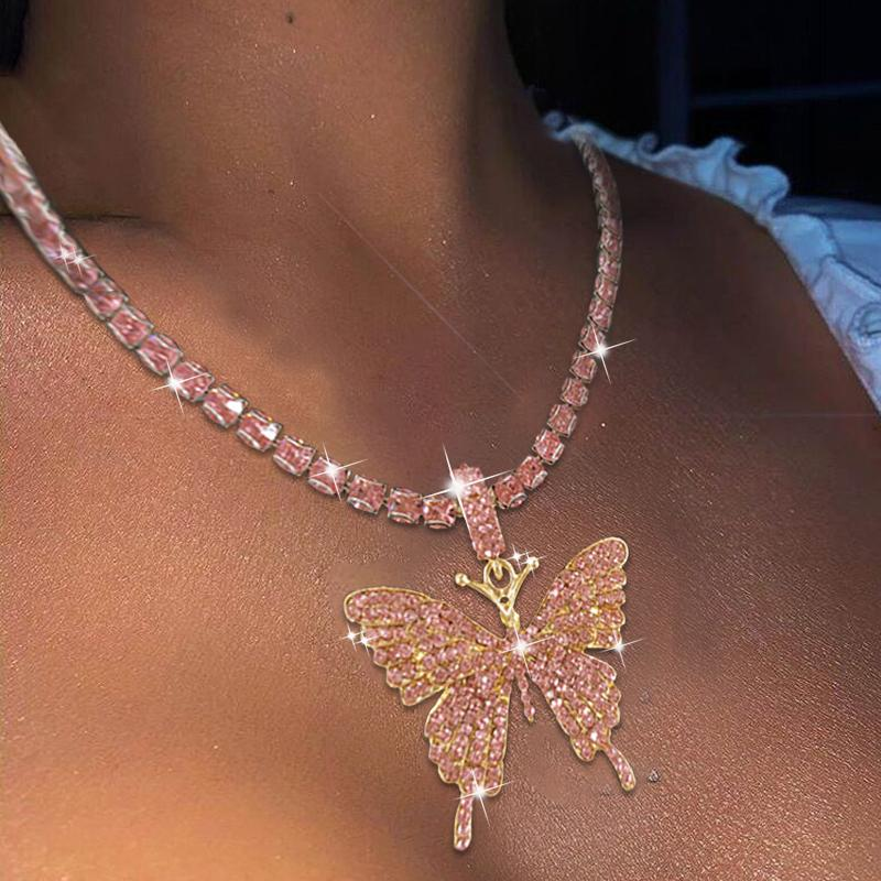 Vintage Big Butterfly Necklace🦋💎