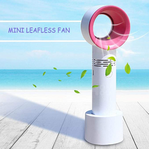 Portable bladeless fan-Enjoy a cool breeze now