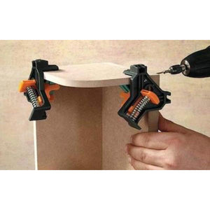 90° Right Angle Corner auto clamp - THE PERFECT WOODWORKING COMPANION