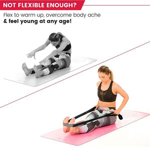 Yoga Stretching Strap - REGAIN YOUR MOBILITY & RECOVERY MUSCLE INJURIES