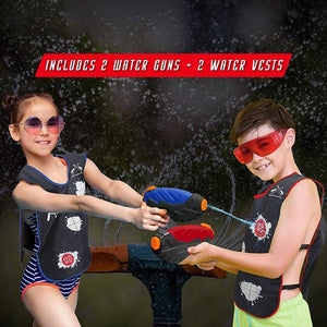 Water Activated Vests  -NEW RELEASE IN SUMMER WATER TOYS