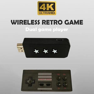 Mini Double Wireless Gamepad-Find your great memory back!