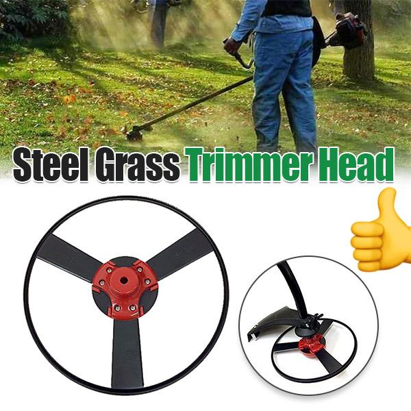 Steel Gas Trimmer Head Garden Tool Flower Grass-50%OFF