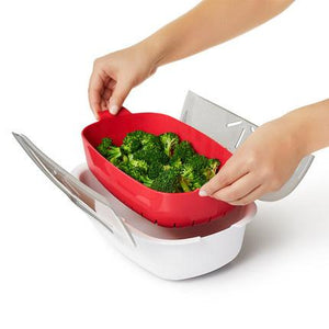 LIMITED QUANTITY 49% OFF-Microwave Steamer