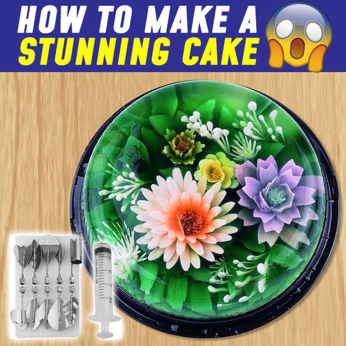 3D Gelatin Jelly And Cake Art Tools
