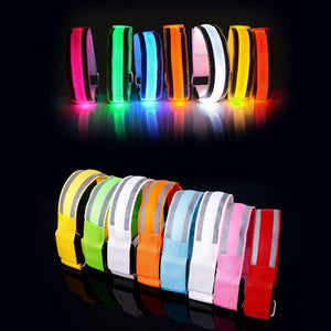 Reflective Belts For Night Running - Night Running Companion To Improve Safety 👍