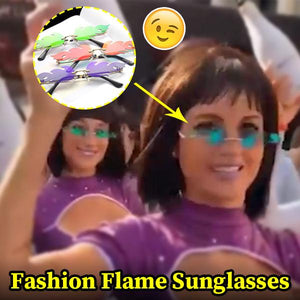 Unique Fashion Flame Sunglasses Fancy Accessory Vintage Style