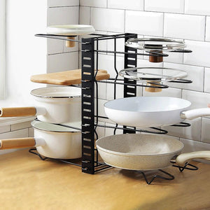 Kitchen multifunctional storage rack- The Perfect Kitchen Storage Solution