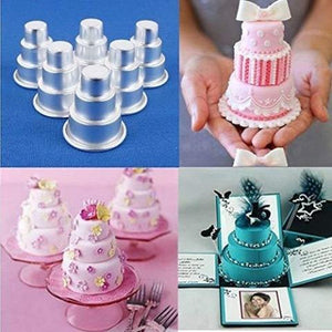 DIY Mini 3-Tier Cake Mould -Tag someone who loves cooking 🍰