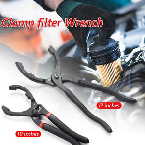 👍Adjustable Oil Filter Pliers - Ideal For Engine Filters, Conduit, Fittings
