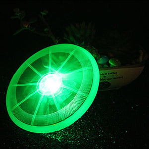 LED Glowing Flying Disc Dog Toy