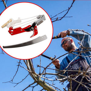 High-altitude Pulley Pruning Shears