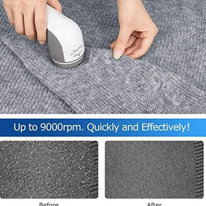 Fabric Shaver and Lint Remover - EASILY REMOVE LINT BALLS, PILLS AND FUZZ
