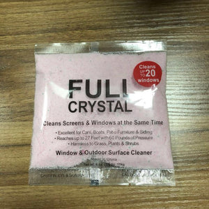 Perfect Full Crystal Window and Outdoor Surface Fast Cleaner