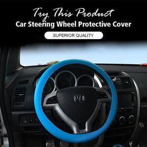 Silicone Car Steering Wheel Protective Cover