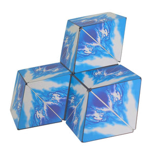 The Shape Shifting Box Geometric 3D Magic Cube SHASHIBO