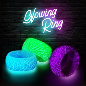 Glow in the Dark - Fluorescent Glowing Colorful Rings For Women / Men