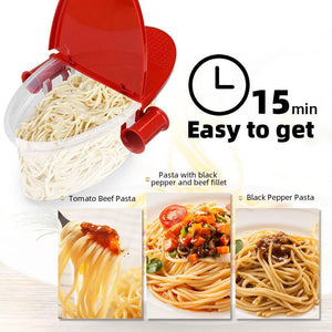 🍝Microwave Pasta Maker - Cook perfect pasta faster than ever😋