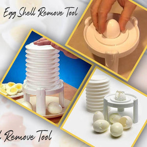 🥚Three Steps Egg Shell Remove Tool - Peels eggs 10 times faster and easier!