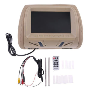 7 Inches Car Headrest Monitor DVD Player-49% OFF