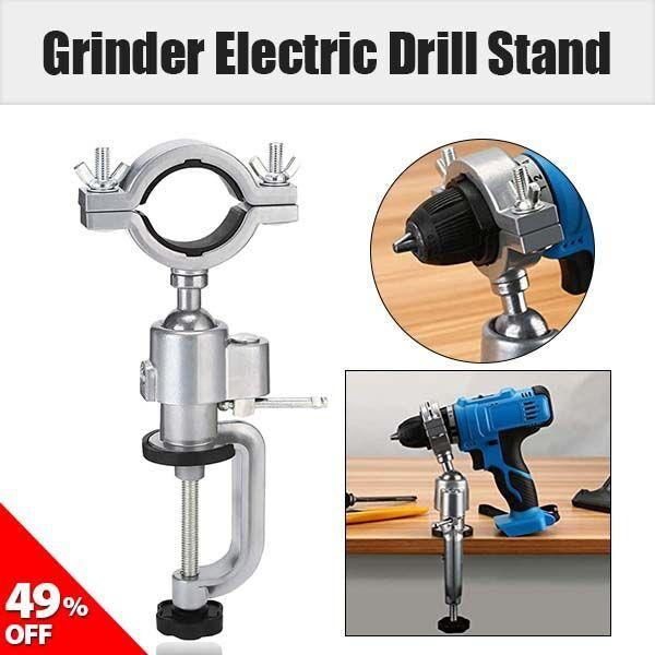 360 Degree Clamp Vises Grinder Electric Drill Stand