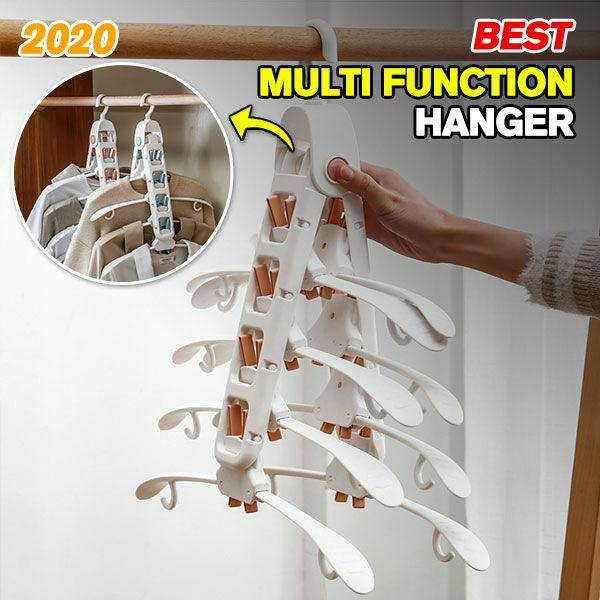 Multifunctional Magic Hanger-Easily Make Your Wardrobe Space Bigger With One Click🤩