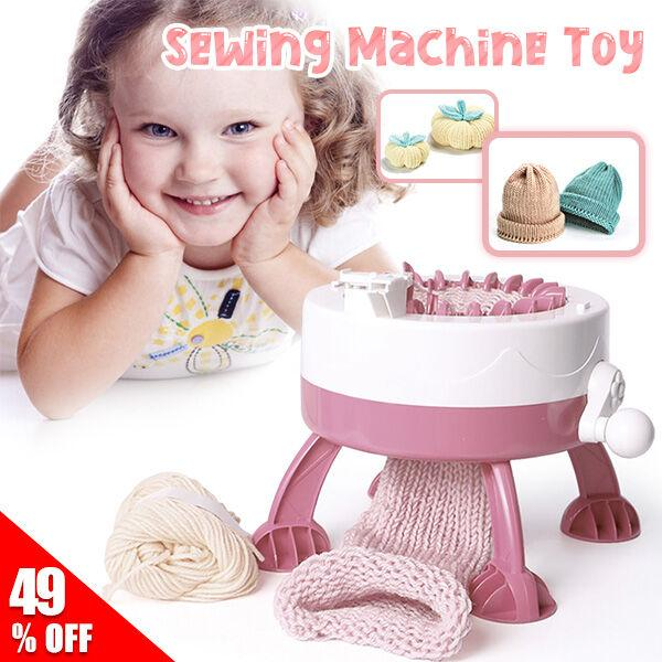 Knitting Machine-Makes Weaving Faster & Easier Than Ever Before