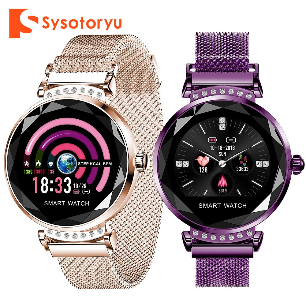 SYSOTORYU H2 Smart Watch Fitness Bracelet Smart Watch Women Heart Rate Monitor Sport Bluetooth Smartwatch For IOS Andriod Phone