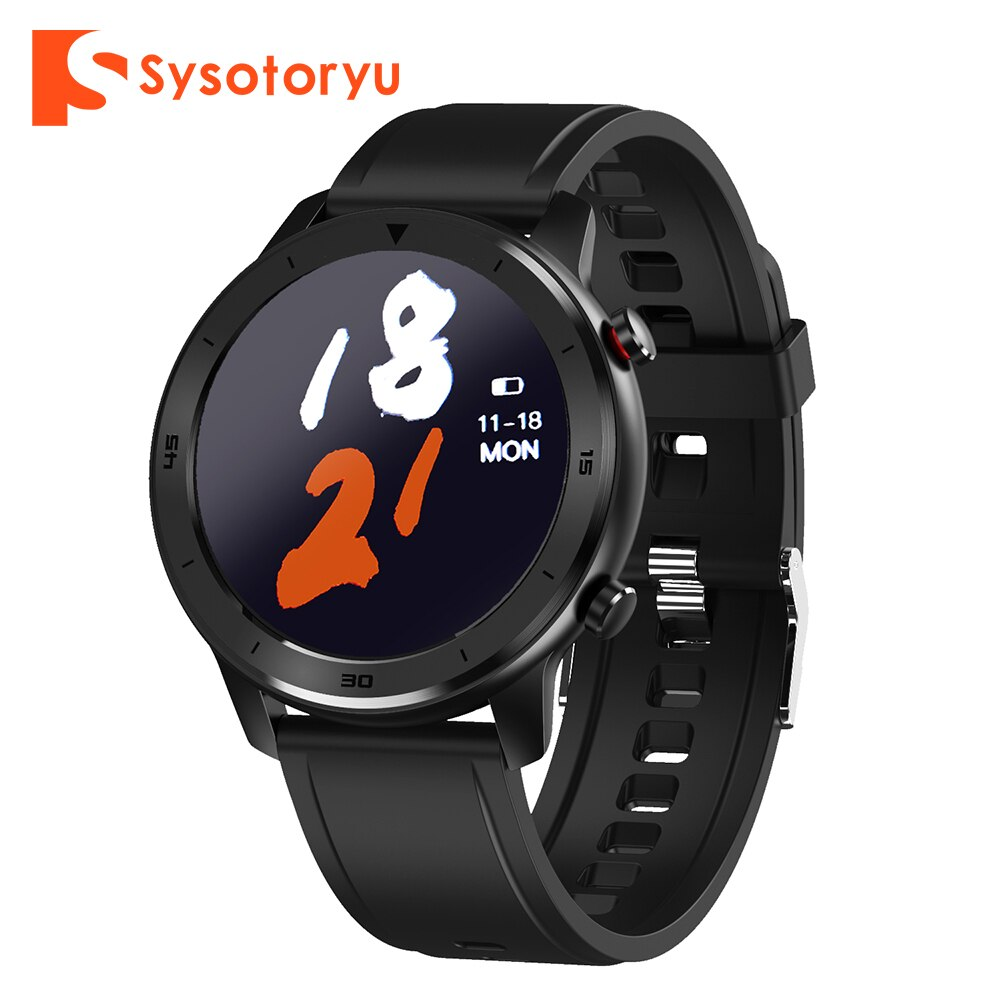 SYSOTORYU Smart Watch Full Touch Screen Heart Rate Blood Pressure Fitness Smart Watch Men For Huawei Xiaomi Android IOS Phone