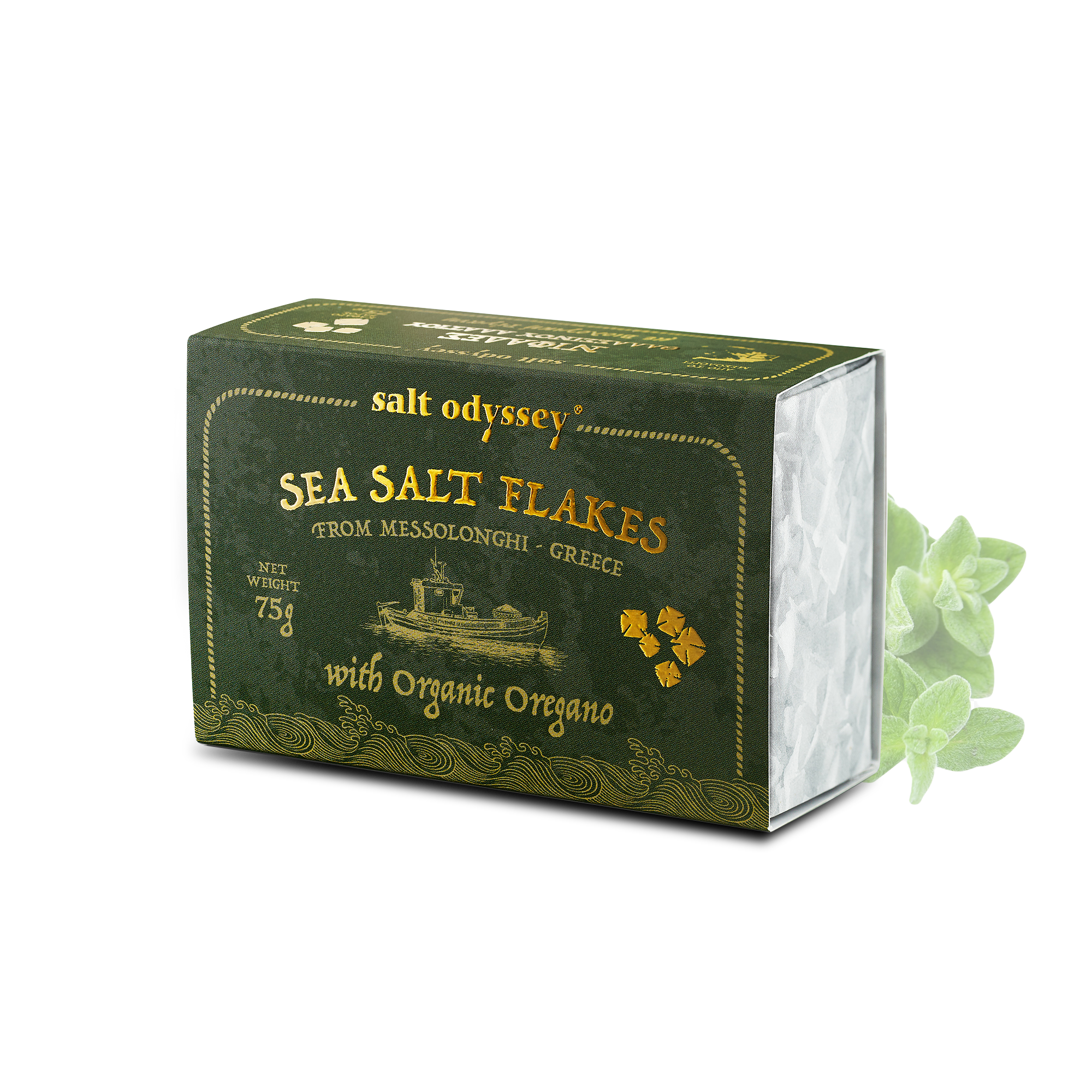 SALT ODYSSEY Meersalzflocken Oregano 75g - Loyal Taste